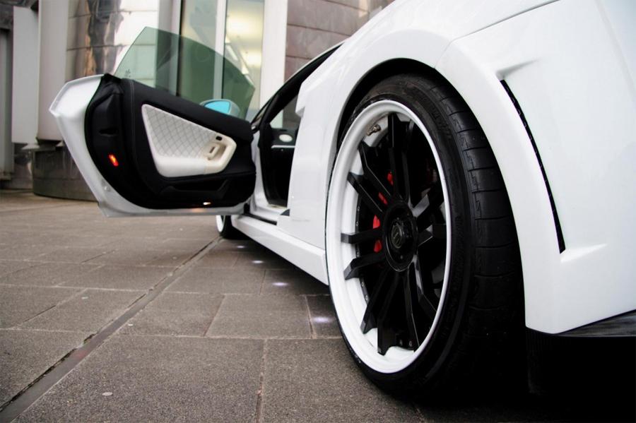 Otomotif: Modification Car Lamborghini White