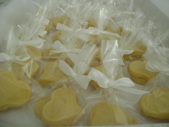 corações de biscoitinhos