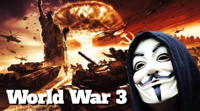 Οι Anonymous προειδοποιούν: «Ο τρίτος παγκόσμιος πόλεμος έρχεται σύντομα!» (Βίντεο)