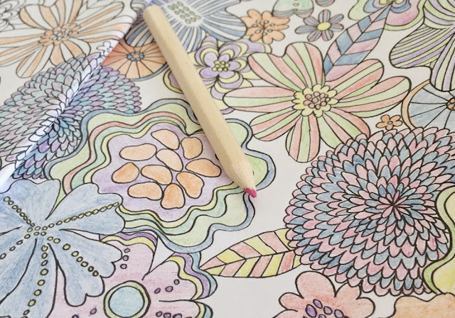 Colouring in illustrations