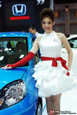 สาวพริตตี้ ฮอนด้า Pretty girls of Honda car at Bangkok International Motor Show 2011