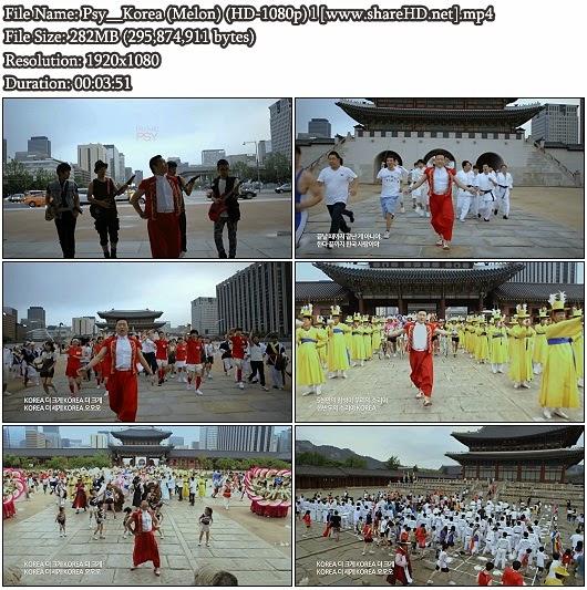 Download MV Psy - Korea (Melon Full HD 1080p)
