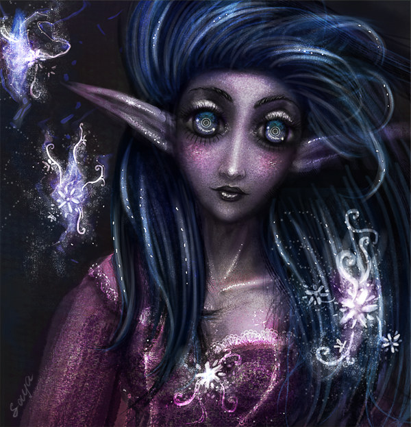 night elf por Just-Saya
