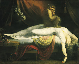 Incubus - John Henri Fuseli - The Nightmare
