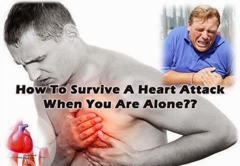 Πώς να επιβιώσετε από καρδιακή προσβολή όταν είστε μόνοι; Κοινοποιήστε το παντού θα σώσετε ζωές!