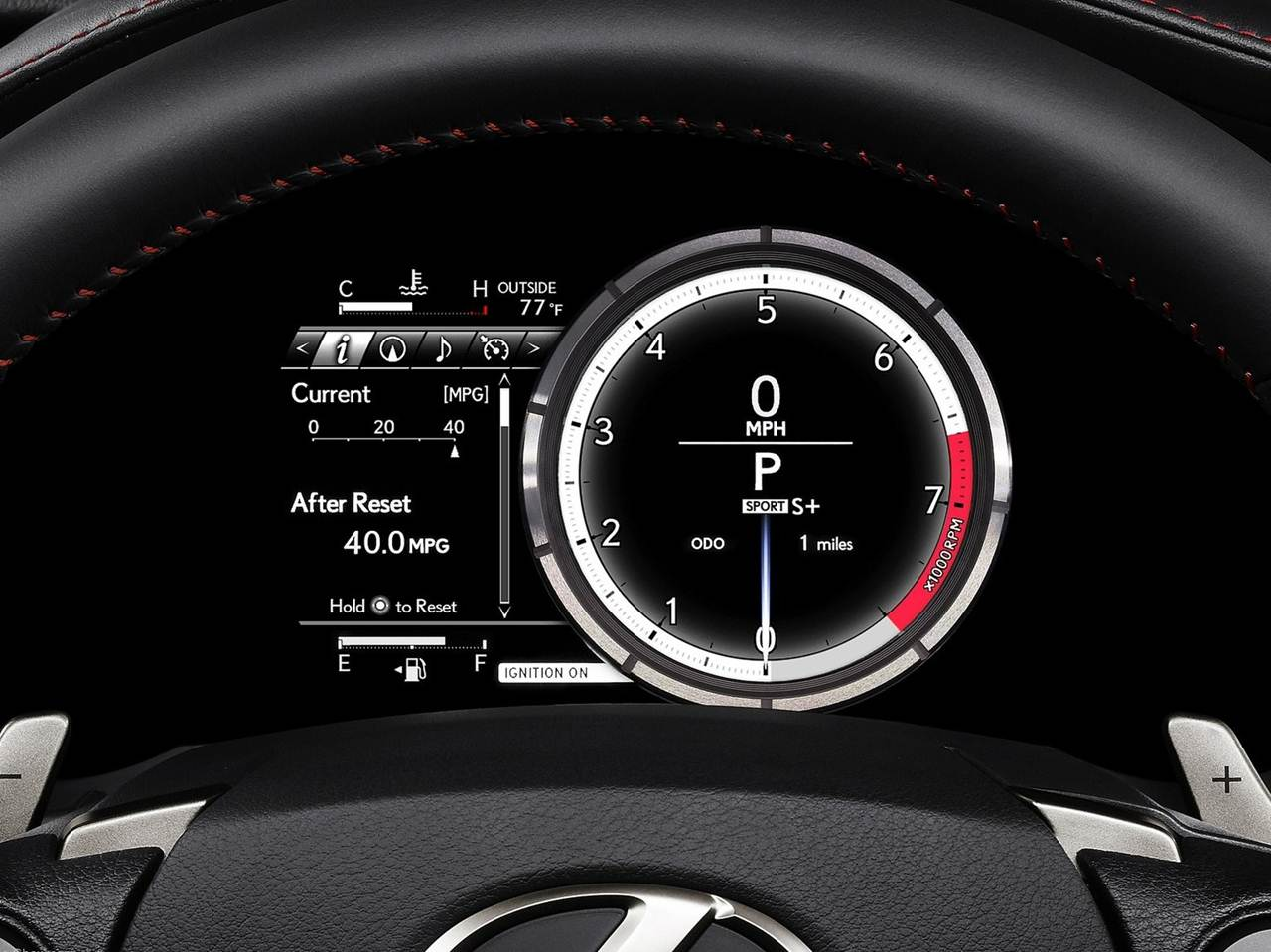 2014 Lexus IS F Sport   Interior