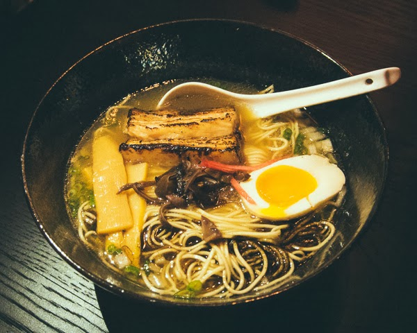 Ramen at Two Ten Jack Nashville