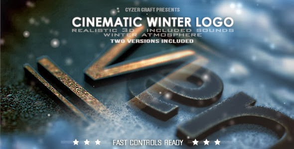 VideoHive Cinematic Winter Logo