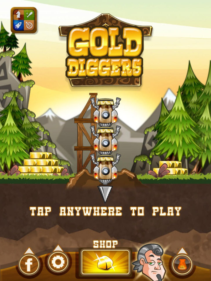 Gold Diggers App iTunes App By Gamistry - FreeApps.ws