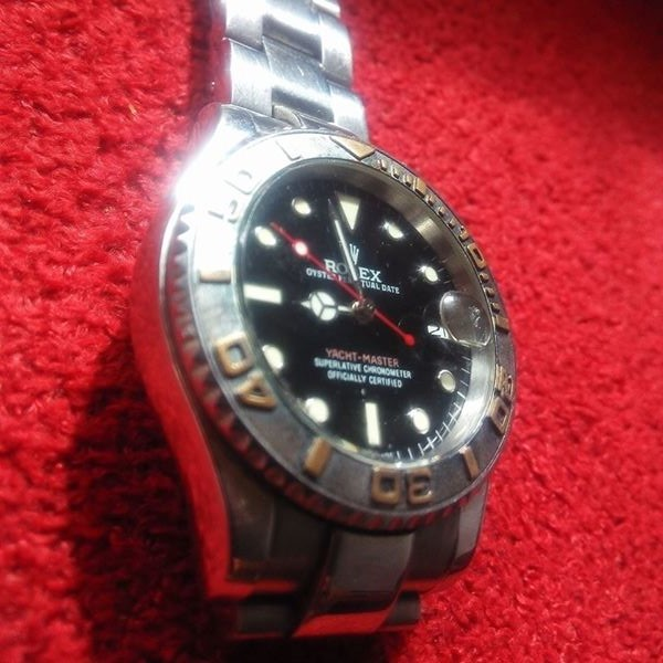 Rolex used , Working. Presisi alias tepat