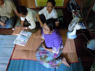 NLD ၏ HIV/AIDS ဆိုင္ရာလုပ္ငန္းမ်ား ဆယ္ႏွစ္တာနဲ႔ အမွတ္တရမ်ား (၂)