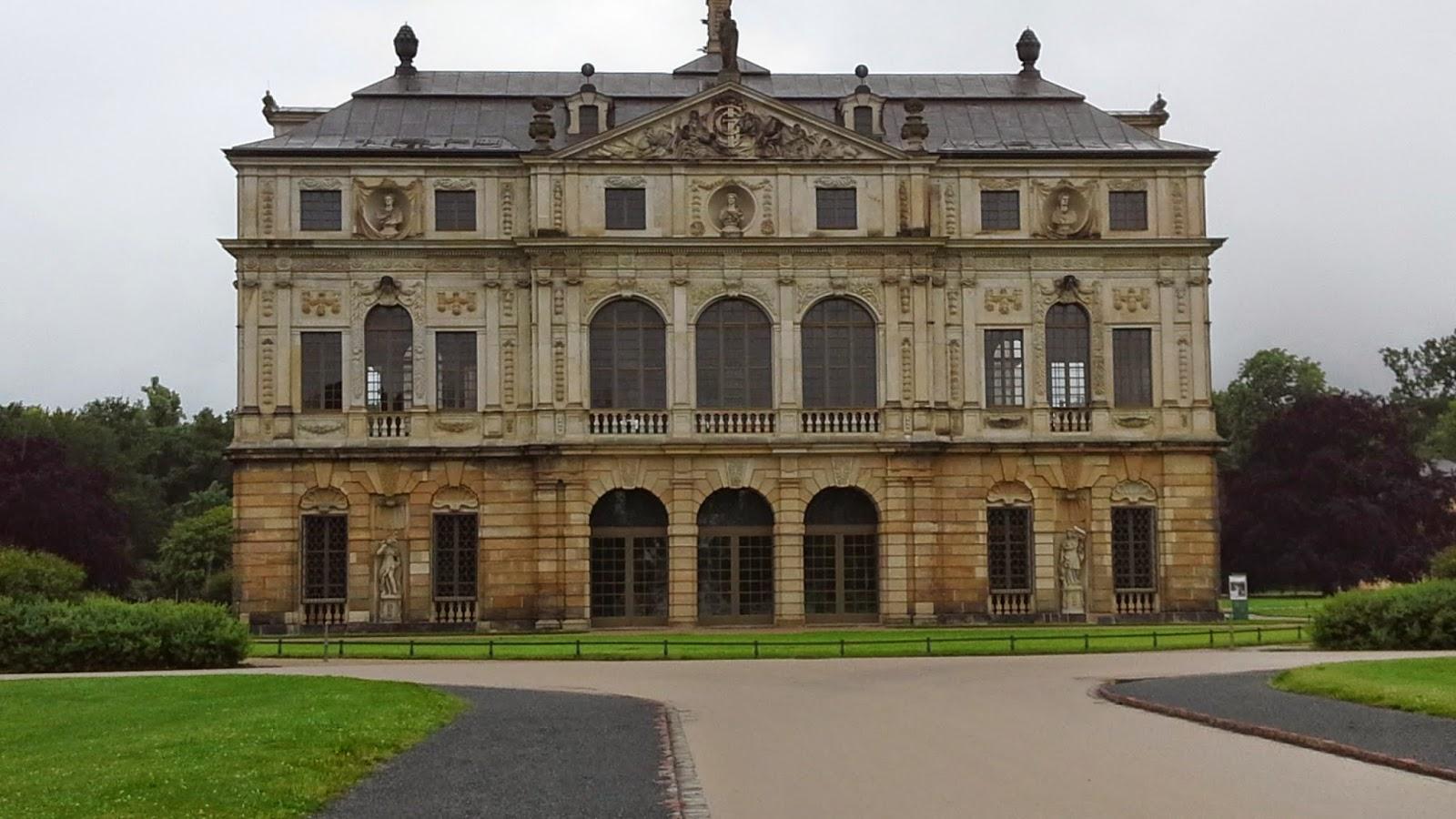 Dresden: Palais im Grossen Garten