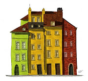I like european style buildings and especially those colorful houses .