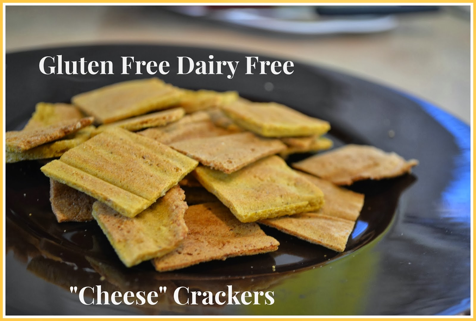 "Gluten Free Dairy Free ""Cheese"" Crackers (egg free, nut free, rice ..."