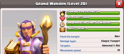 Informasi Grand Warden