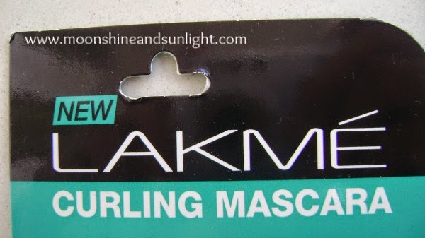 LAKME eyeconic curling mascara review, swatches and price in India