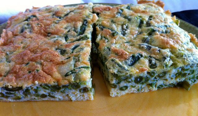 baket _omelette_green_bean