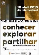 18 ABRIL 2015 - DIA INTERNACIONAL DOS MONUMENTOS E SÍTIOS