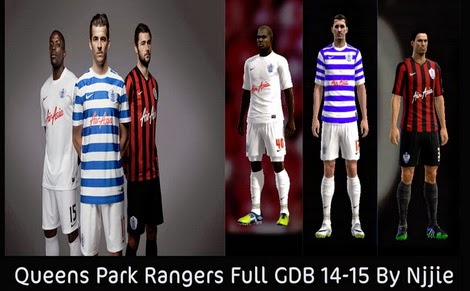 PES 2013 Queens Park Rangers Full GDB 14-15 By Njjie