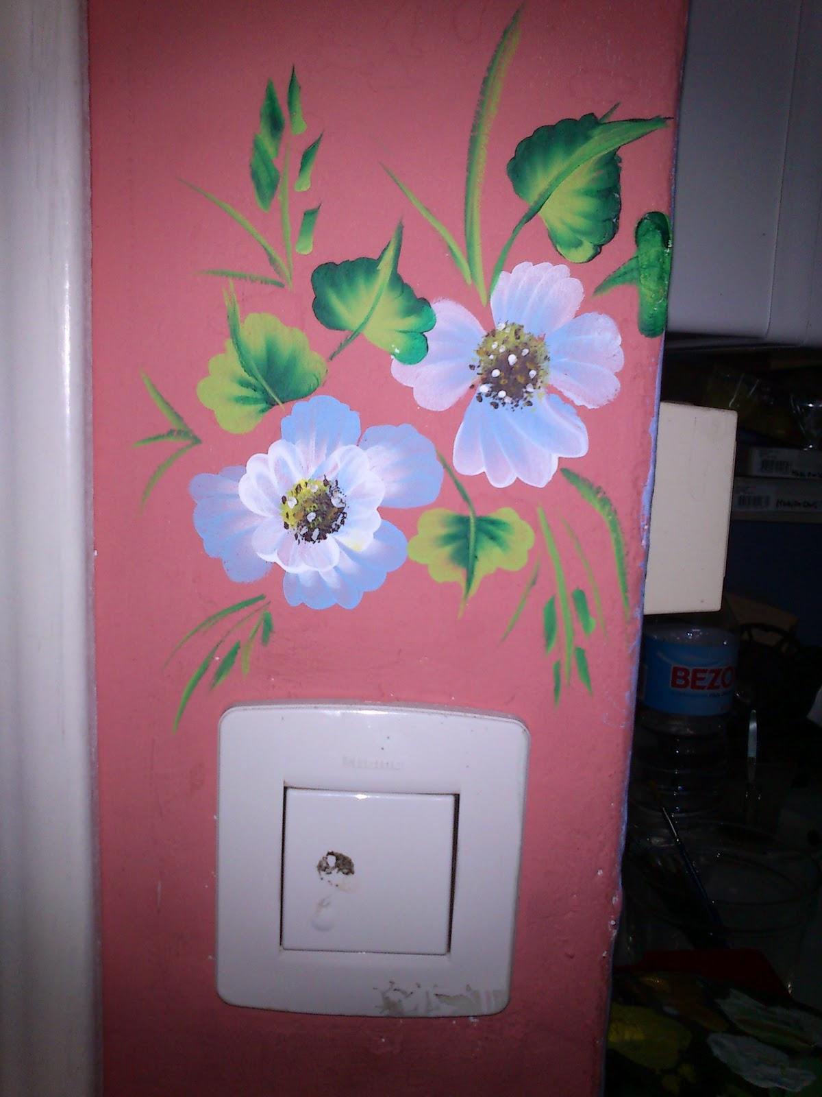El blog de crocosmia decoraci n de paredes con flores - Flores para decorar paredes ...
