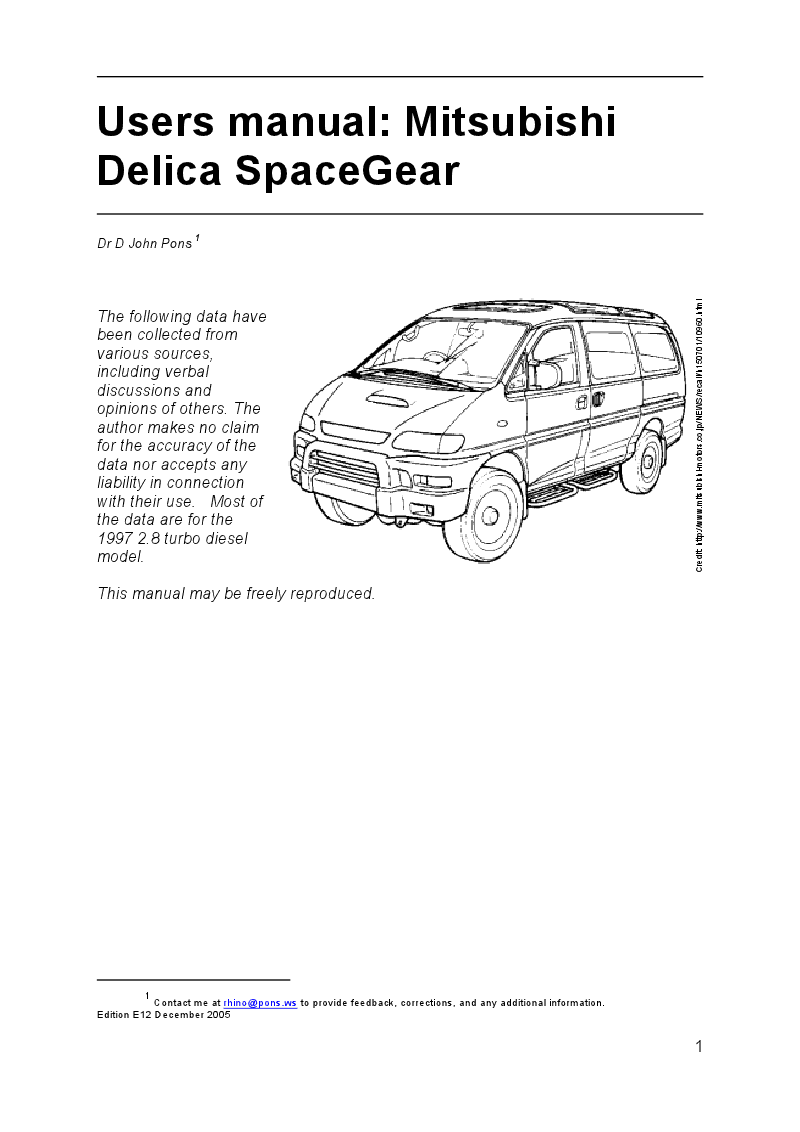delica central locking wiring diagram