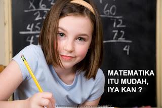 Matematika itu Mudah