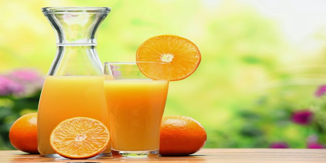 Orange Juice For Dark Circle