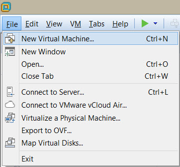 New virtual machine