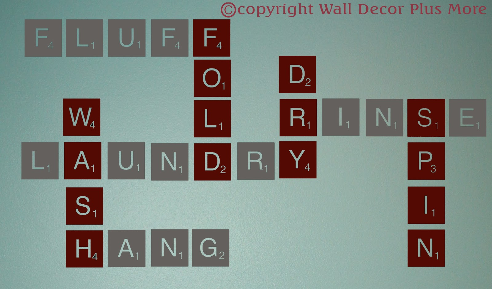 Scrabble Wall Tiles Decorating With Wall Vinyl Scrabble Tile Wall Sticker Designs