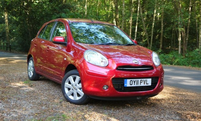 Nissan Micra DIG-S front view