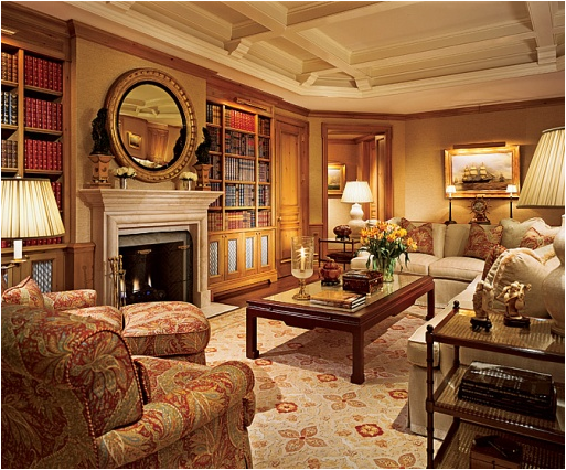 Old world living room design ideas simple home for Old world home designs