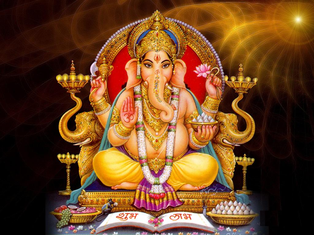 lord ganesha shubh labh hd wallpapers download | god wallpaper photos