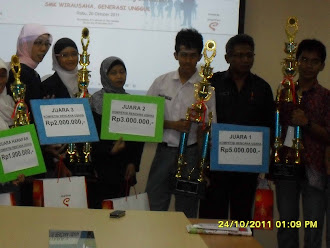 2nd winner | Ide Usaha Bisnis Baru Indopos & Diknas tingkat DKI Jakarta 2011