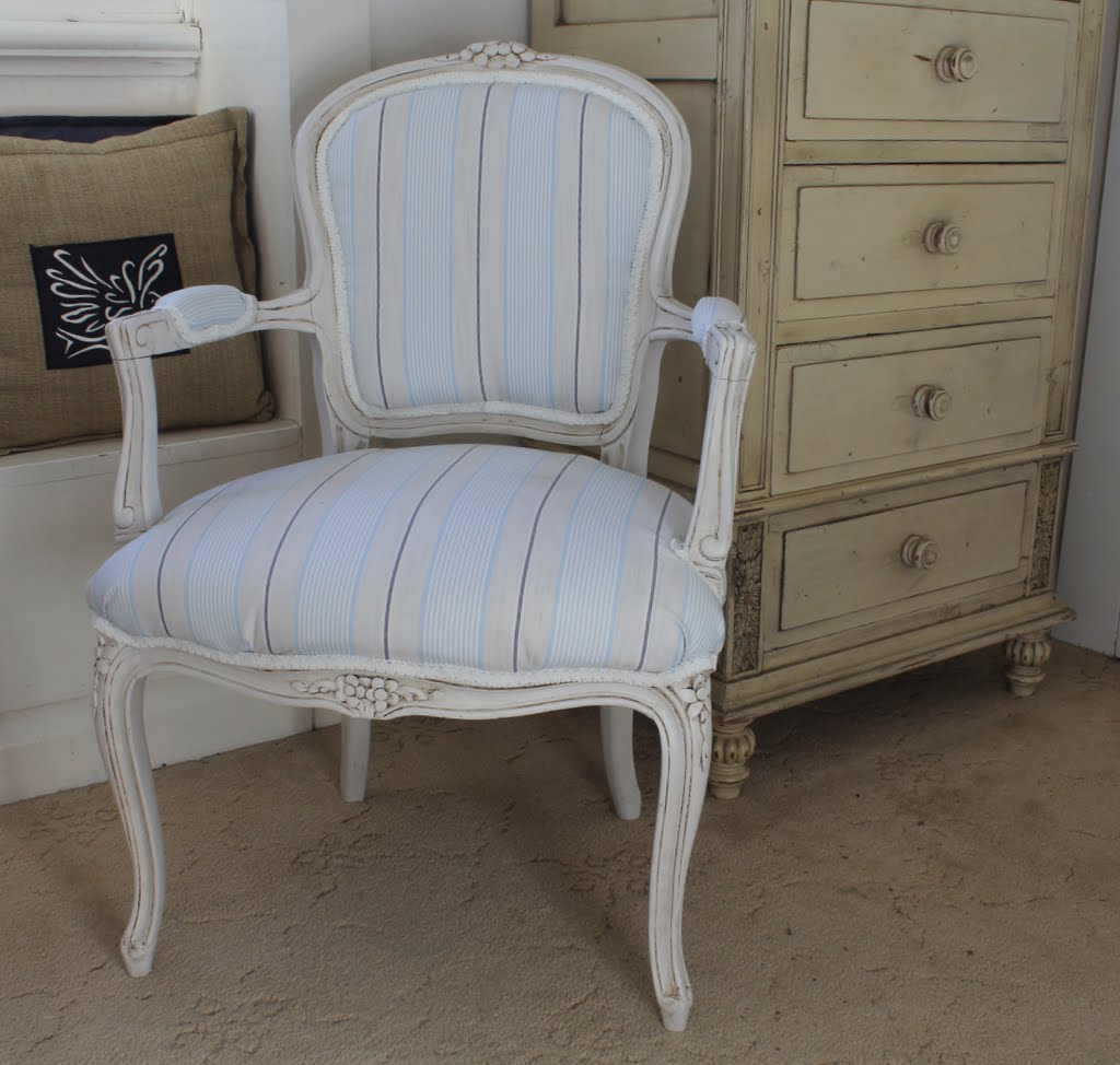 How to reupholster a louis chair - Louis French Chair Upholstery How To Diy Lilyfield Life