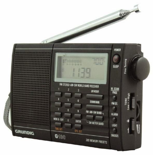 Цифровой радиоприемник Grundig G100 с улучшенным качеством приёма на всех диапазонах с ручной и автоматической настройкой с функцией автосохранения станций