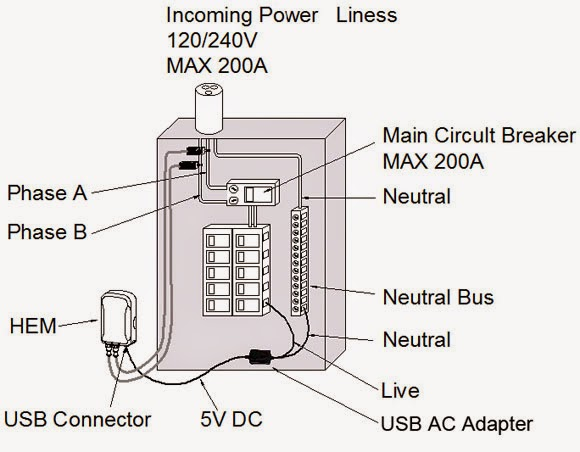 electric work  service electrical diagram panel meter  1
