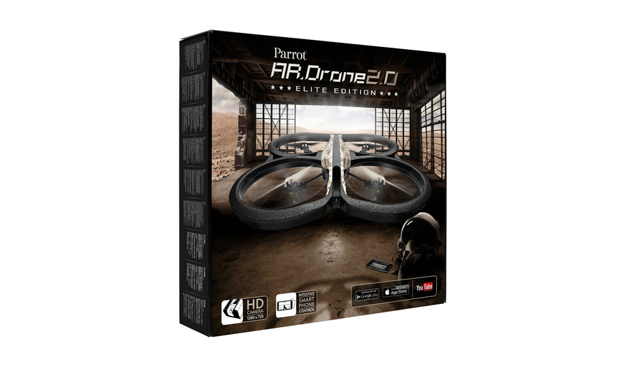 Parrot ar.drone 2.0 power edition quadrocopter
