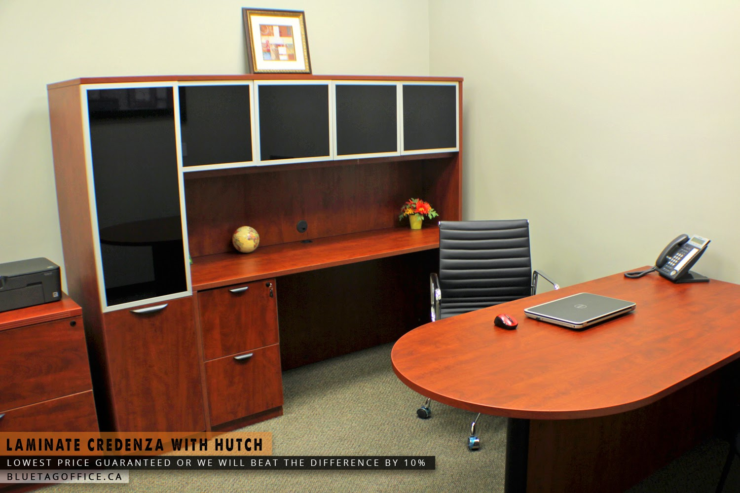 Office Chair On Sale In Canada Laminate Credenza With Hutch On SALE