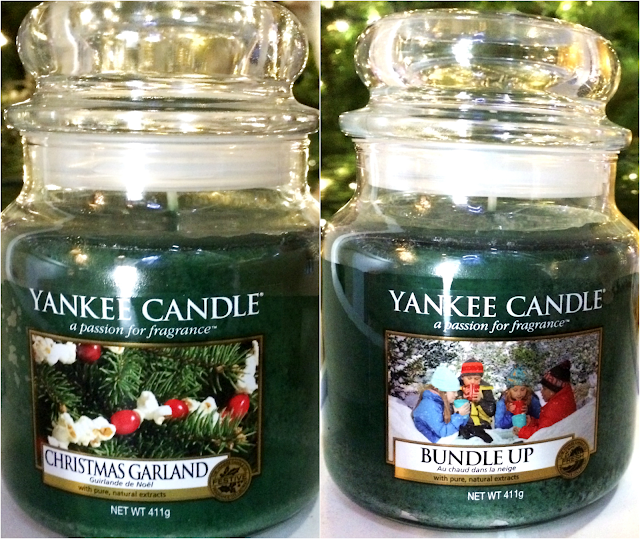 Christmas Garland Bundle Up Yankee Candle