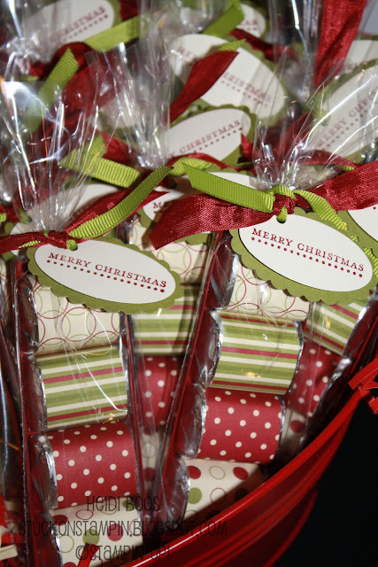 Gift packaging ideas little wrapped hershey bars for Edible christmas gift ideas to make