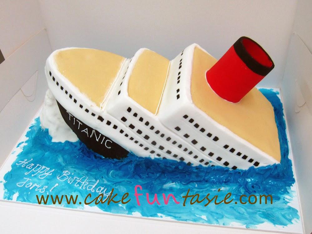 How To Make A Titanic Cake
