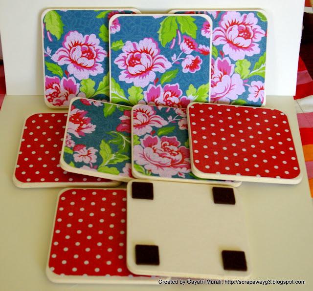 Handmade By G3 Made Coasters