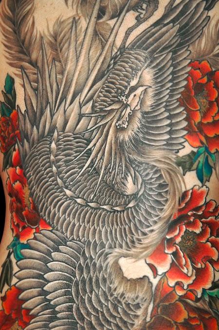 刺青 鳳凰 和彫