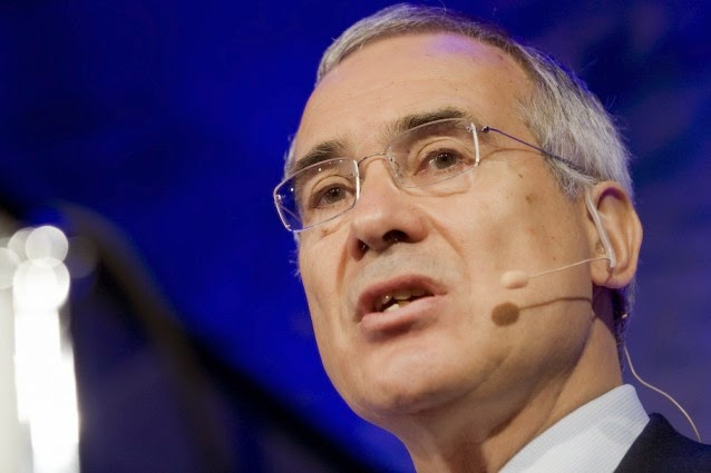 British economist Lord Nicholas Stern. (Credit: AP Photo / Keystone, Peter Schneider) Click to enlarge.