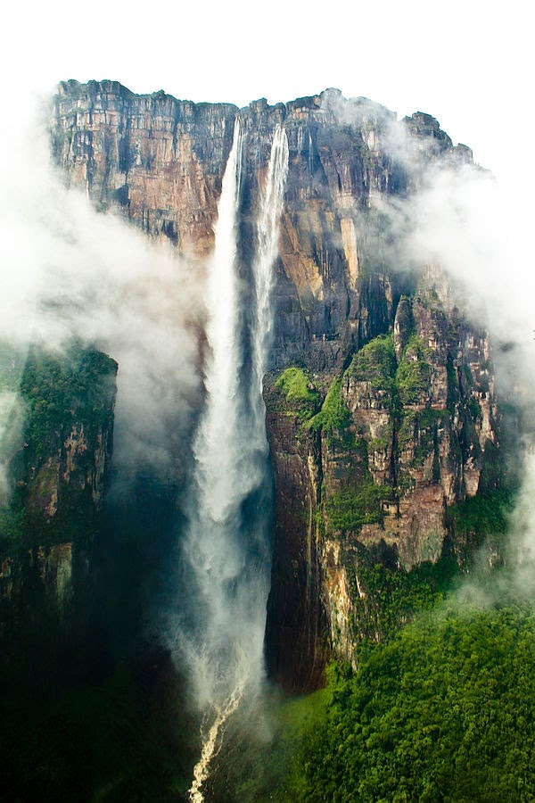 Wasserfall Salto Angel in Venezuela