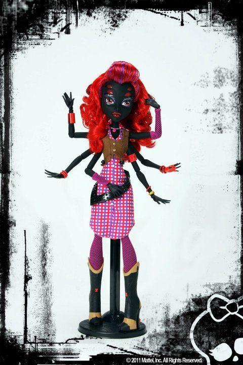 Nuevos personajes de Monster High en 2012