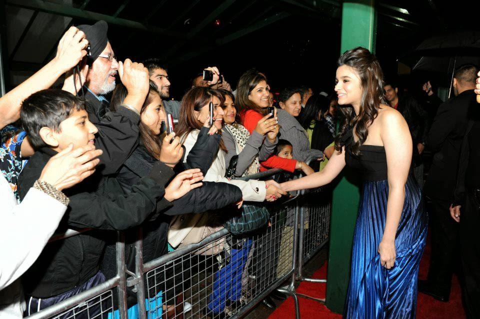 ... & Kran Promoting Student Of The Year Movie In London   Alia Bhatt