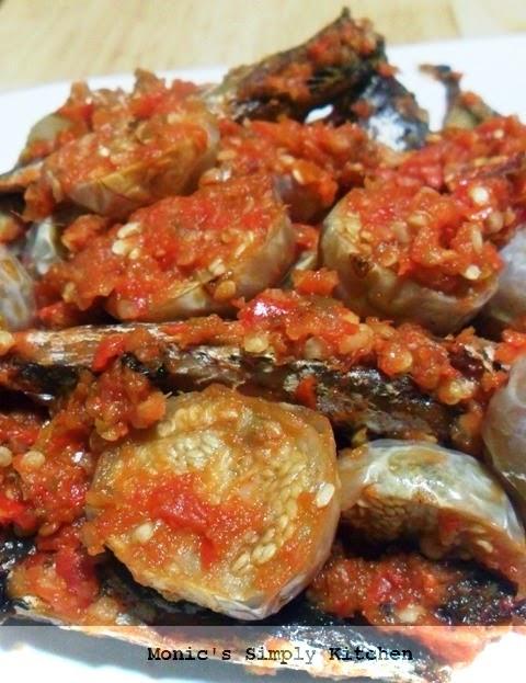 sambal ikan asin benggol