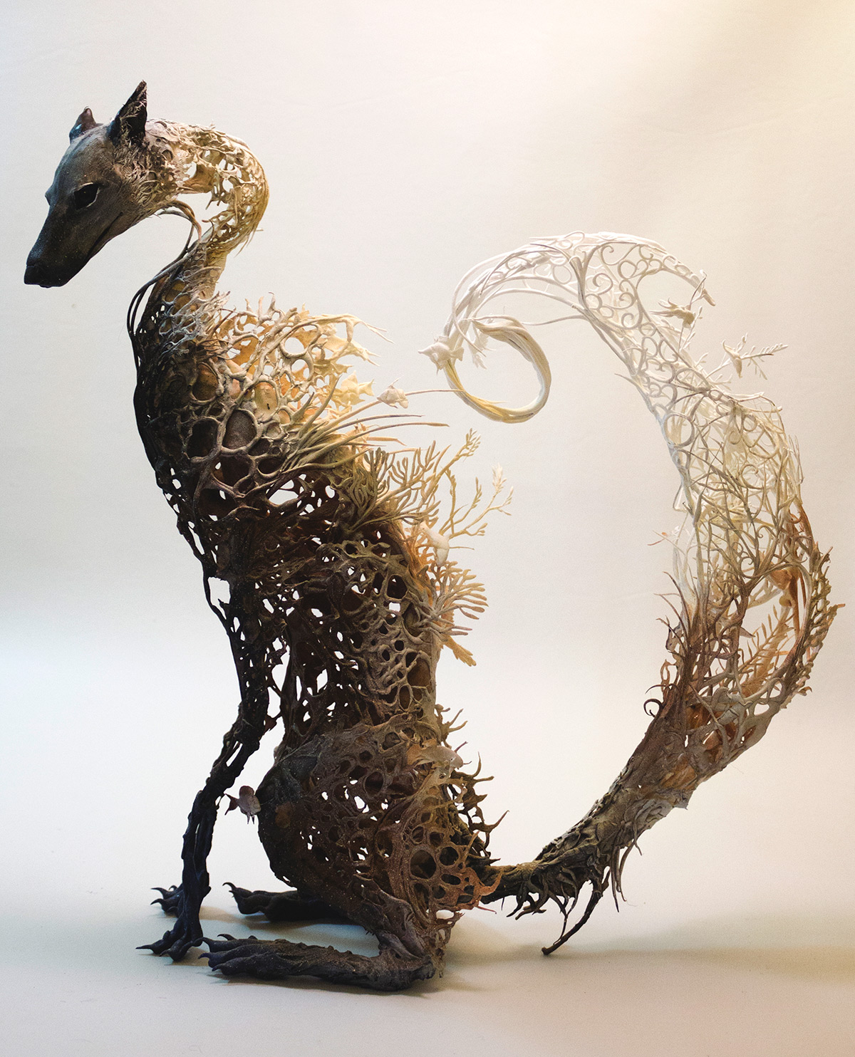 volpe-sculture-surrealiste-ellen-jewett