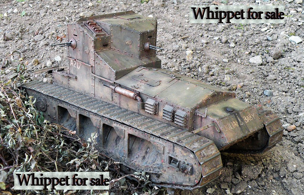 Medium Tank Whippet 1:15 scale
